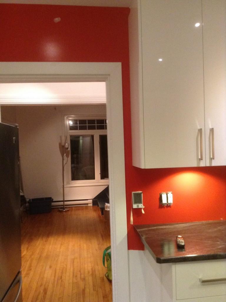 Une nouvelle cuisine.